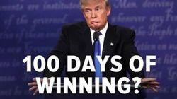 トランプ大統領が就任して100日、これだけのことを達成しました