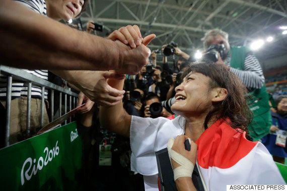 伊調馨、亡き母に捧げる4つ目の金メダル
