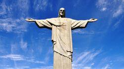 【360°動画】あのキリスト像を見上げてみるとこんな感じ!