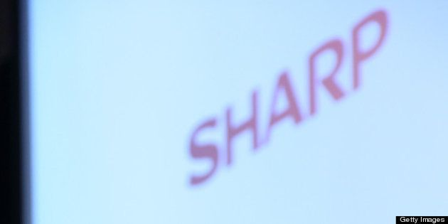 Kozo Takahashi, incoming president of Sharp Corp., attends a news conference in Tokyo, Japan, on Tuesday,...