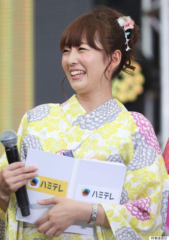 狩野恵里さんが結婚 テレ東の女子アナ、レーサーの山本尚貴さんと