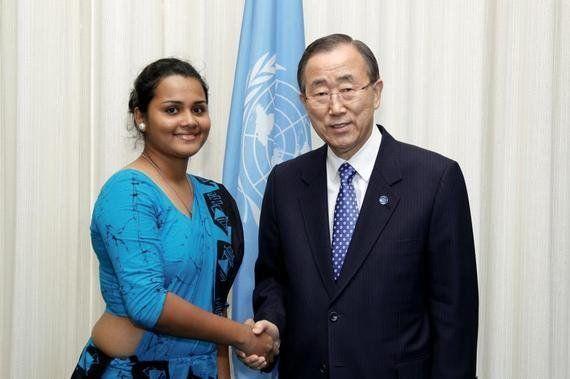 スリランカと若き女性リーダー