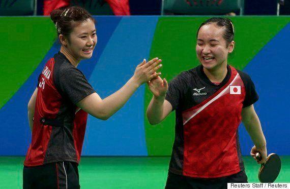 卓球女子団体、日本が銅メダル 福原愛、勝利に涙「みんなに感謝しています」【リオオリンピック】
