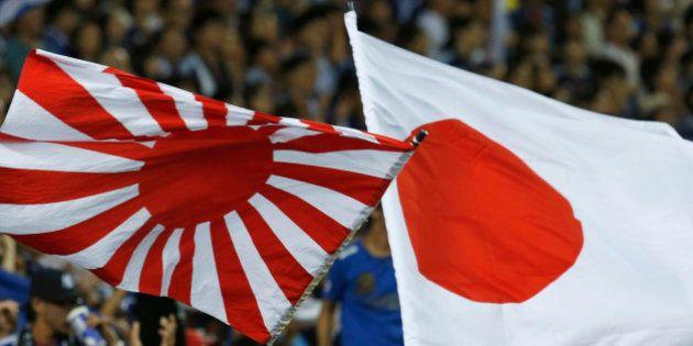 川崎フロンターレのサポーター、韓国・水原戦で旭日旗を掲げ一触即発 AFC「倫理違反の疑い」