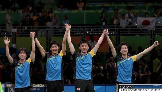 卓球男子団体、日本が決勝進出 水谷隼「絶対勝てると思ってここに来た」
