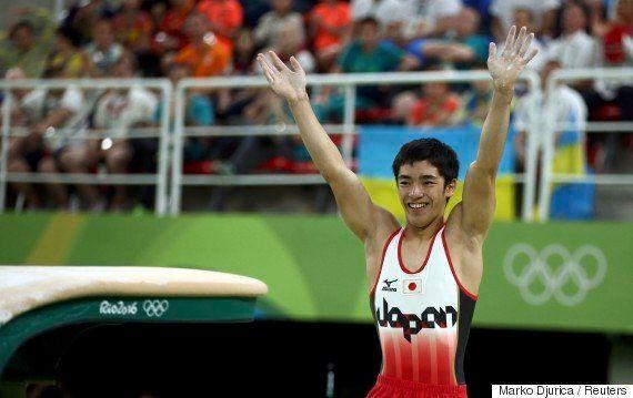 白井健三が銅メダル 新技は「自分でも感動すると思う」