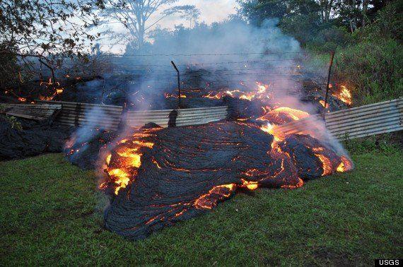 【キラウエア火山】溶岩流を迎えるパホア村の心境