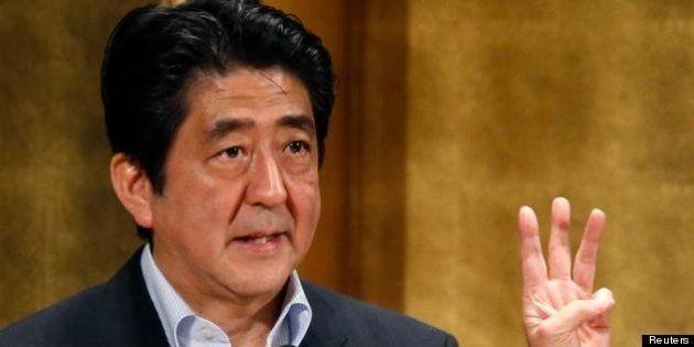 安倍首相「達成するまで政策打ち続ける」成長戦略第3弾 所得150万円増