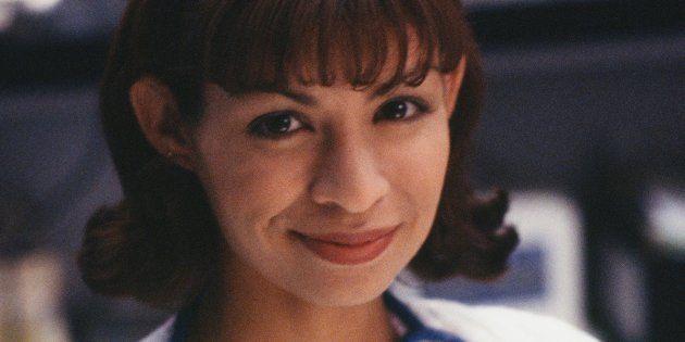 「ER」で看護師役を演じていたバネッサ・マルケスさん=1996年