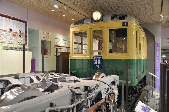 地下鉄博物館に01系カットモデル車両が登場!!