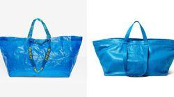 IKEA、1ドルのバッグと2600ドルの「バレンシアガ」バッグとの見分け方を解説