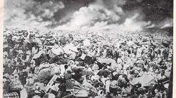 関東大震災の写真は捏造だった。別の場所の写真に炎と煙を加筆