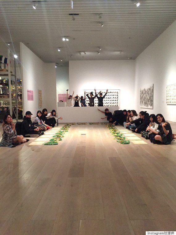 イベント終了後には参加者全員で集合写真も撮影した。 (N・S・ハルシャ