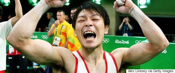 コマネチが内村航平を絶賛「ウチムラは史上最高」【リオオリンピック】