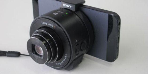 ソニーのレンズスタイルカメラ