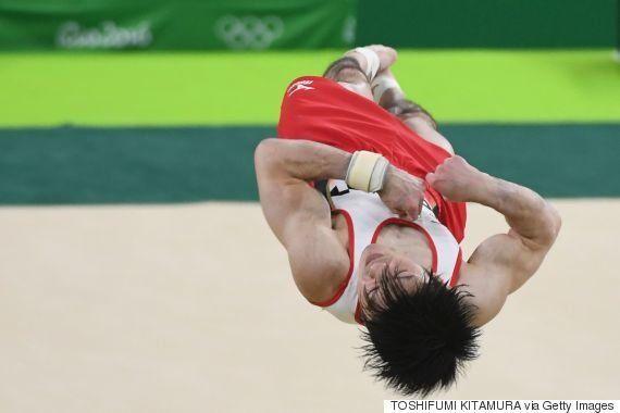 内村航平が5位「腰が壊れても出てやろうと思った」白井健三は4位 男子体操ゆか【リオオリンピック】