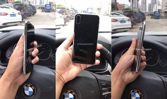 次期iPhoneダミーモデルの写真が出回る。ホームボタンの姿なし、Touch