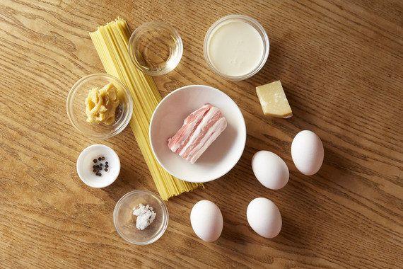 12時間かける究極のカルボナーラ ~ねっとり濃厚、卵の誘惑~