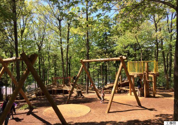 男児四人、双子を抱える僕が絶賛お勧めしたい山の公園。ワンオペはダメ、絶対。