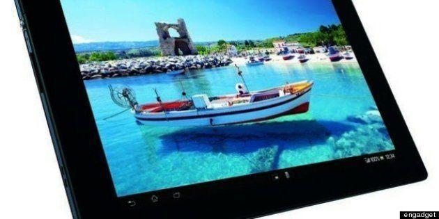 ドコモ Xperia Tablet Z
