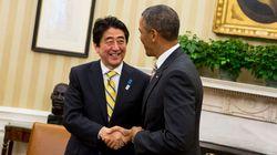 日米首脳会談、漁夫の利で実現