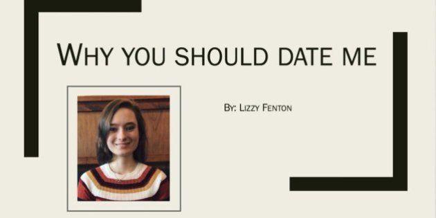 「あなたは私とデートすべき」