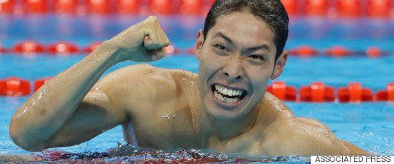 萩野公介が銀メダル「まぁ、宿題は残しておきます」