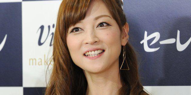 元「モーニング娘。」の吉澤ひとみさん(2015年9月16日、東京都港区)