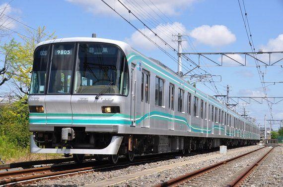 東京メトロ南北線に9000系リニューアル車が登場!!