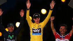 ツール・ド・フランス:フルーム、初の総合優勝(写真)