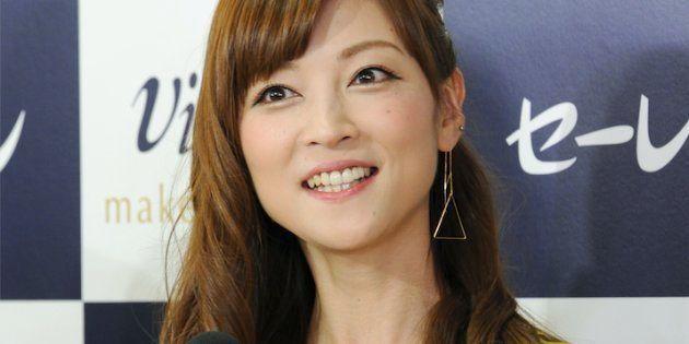 9月5日に婚約を発表した元「モーニング娘。」の吉澤ひとみさん。セーレン「Viscotecs make your brand」発表会に登場=16日、東京都港区
