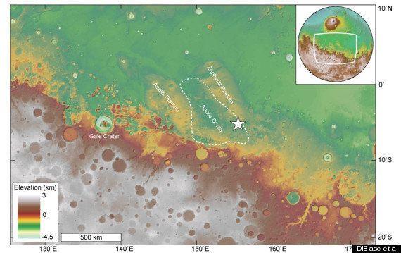 火星に海はあったのか?大学の研究チームが有力な痕跡発見か