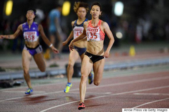 福島千里、100メートルを欠場 太もも裏に違和感【リオオリンピック】