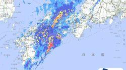 西日本豪雨、台風21号の被災地で大雨 二次災害に警戒が必要
