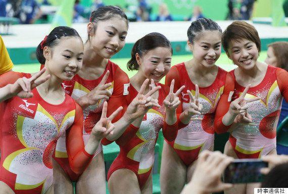 日本体操女子は「小さなピカチュウ」