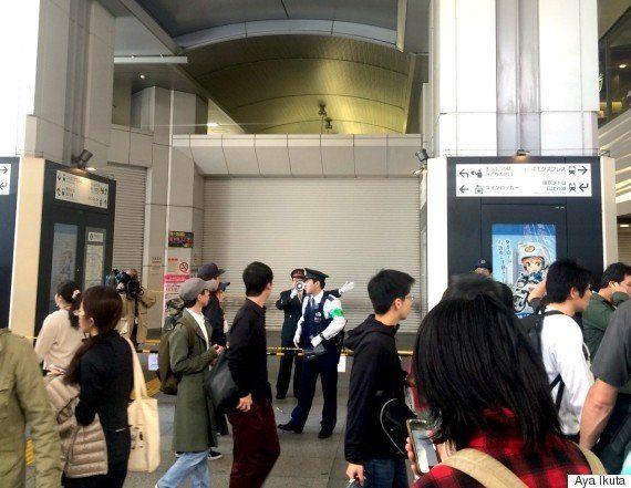 秋葉原駅で爆発物騒動 サニタリーボックスの基板?いたずらに設置か