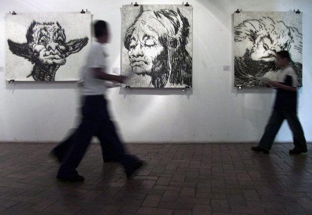 ホンジュラス・ナショナル・アート・ギャラリーで2003年に開かれた「フランシスコ・デ・ゴヤ」展