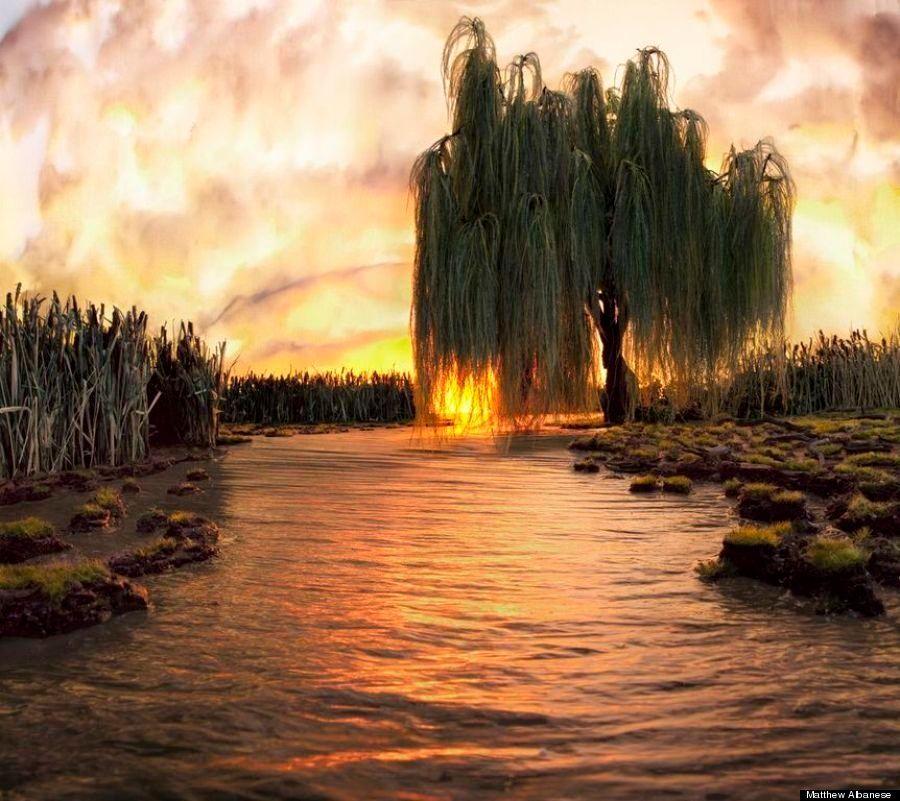 本物にしか見えない「風景のアート」