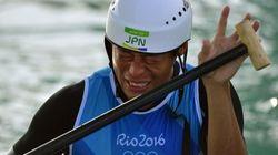 羽根田卓也、カヌーで日本初の銅メダル