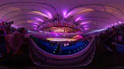 リオオリンピック開会式、ステージからはこう見えた【360度スライドショー】