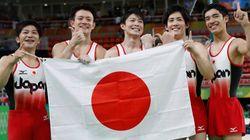 体操男子の金メダル、海外紙も讃える 中国との差は「蜃気楼ではなかった」【リオオリンピック】