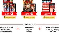アマゾン、紙&デジタルの雑誌セットを低価格で発売