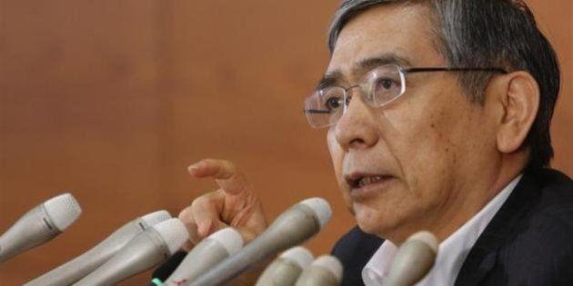 日銀・黒田東彦総裁「脱デフレと消費増税は両立する」