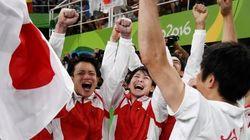 体操男子団体総合、日本がアテネ以来3大会ぶりの金【リオオリンピック】