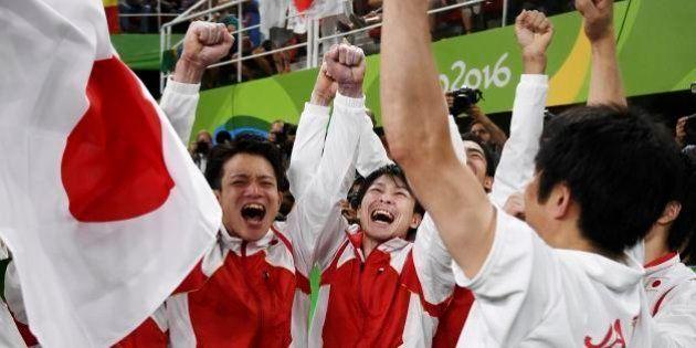 2016 Rio Olympics - Artistic Gymnastics - Final - Men's Team Final - Rio Olympic Arena - Rio de Janeiro,...