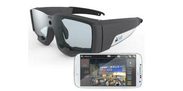 視線追跡メガネ、データはスマホに保存 脳波センサも搭載