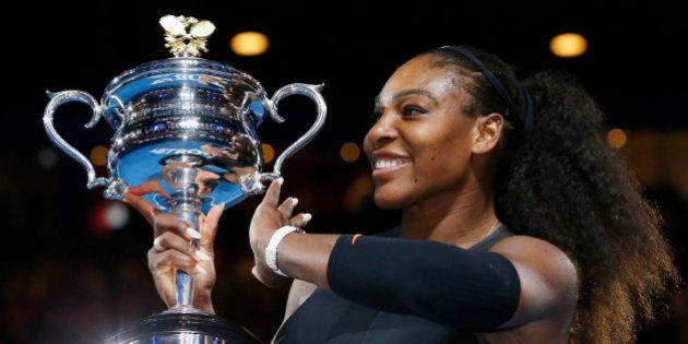 Tennis - Australian Open - Melbourne Park, Melbourne, Australia - 28/1/17 Serena Williams of the U.S....
