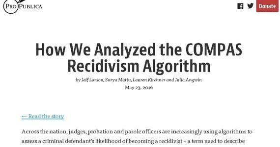 見えないアルゴリズム:「再犯予測プログラム」が判決を左右する