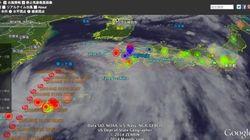 「人間センサー」で災害状況をすばやくつかむ:「台風リアルタイム・ウォッチャー」公開