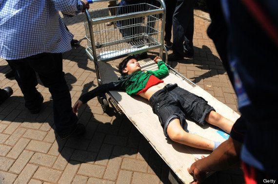 ケニアの首都ナイロビのショッピングモールに武装集団襲撃、死傷者多数